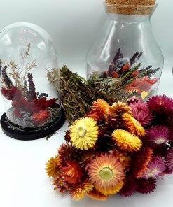 Geschenken met gedroogde bloemen